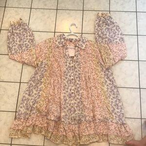 Free people boho style  mini dress